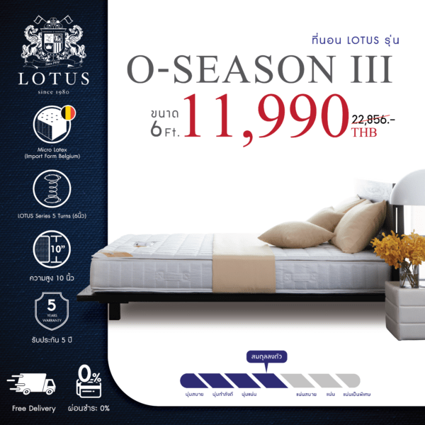 Lotus Mattress - O-Season III 1