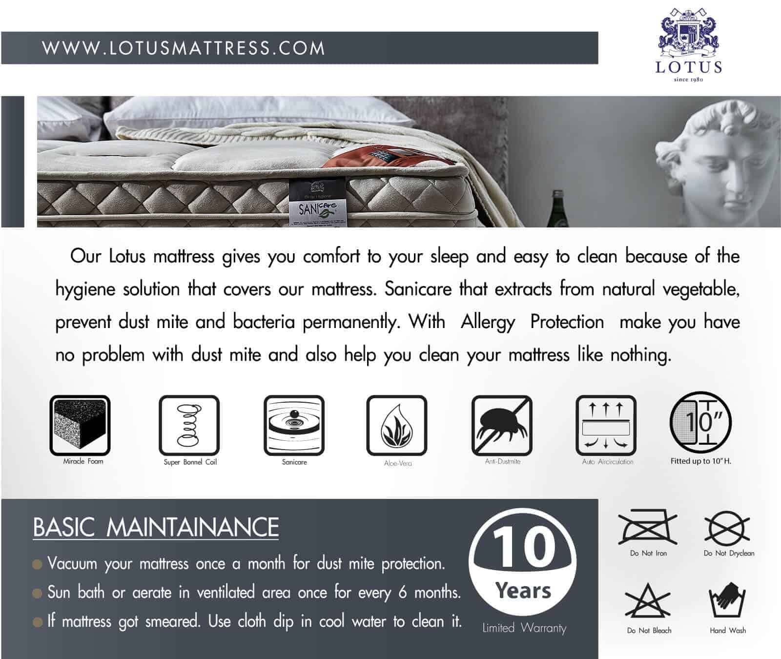 Lotus Mattress - Advance 17