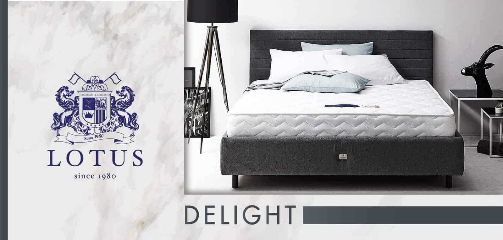 Lotus Foam Spring Mattress Delight – Ideal Firm Mattress – Thickness 10 inches – Warranty 10 years 7