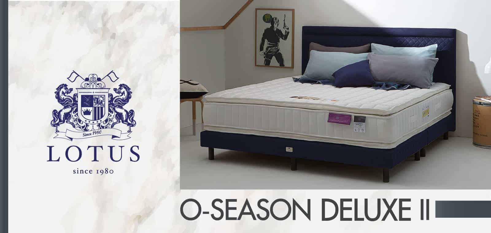 Lotus Mattress - O-Season Deluxe II 9