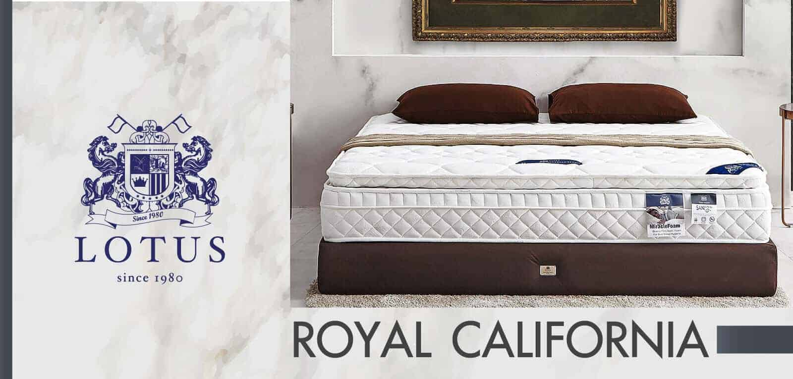 Lotus Mattress - Royal California 7