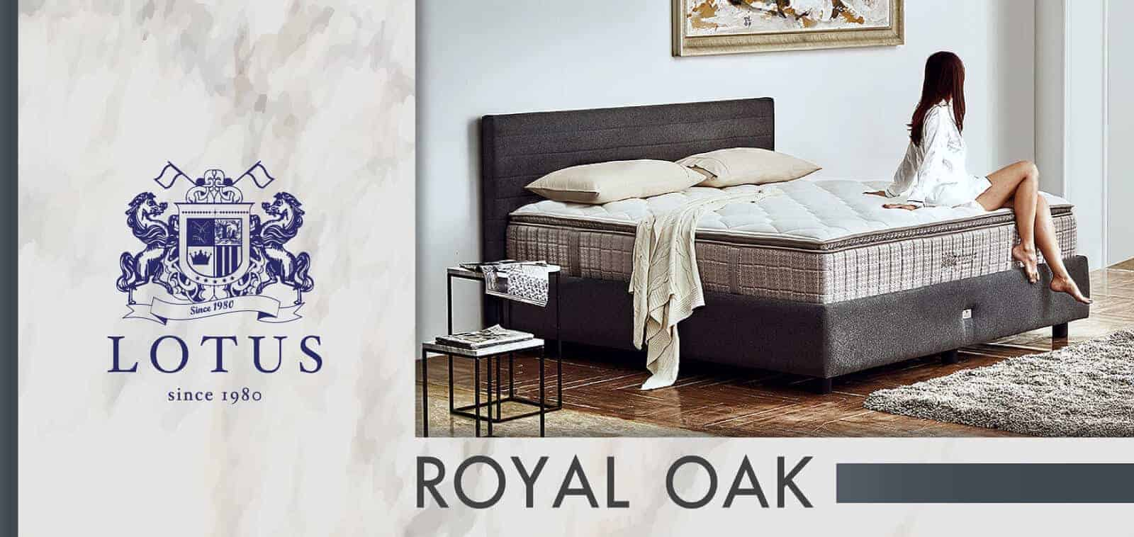 Lotus Mattress | Privacy Tech - ROYAL OAK 6