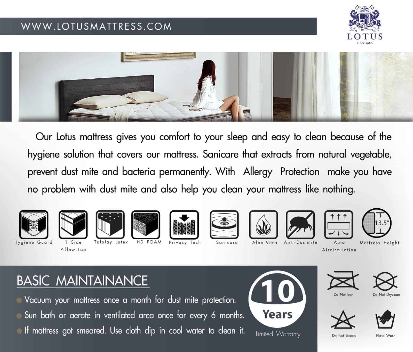 Lotus Mattress | Privacy Tech - ROYAL OAK 16