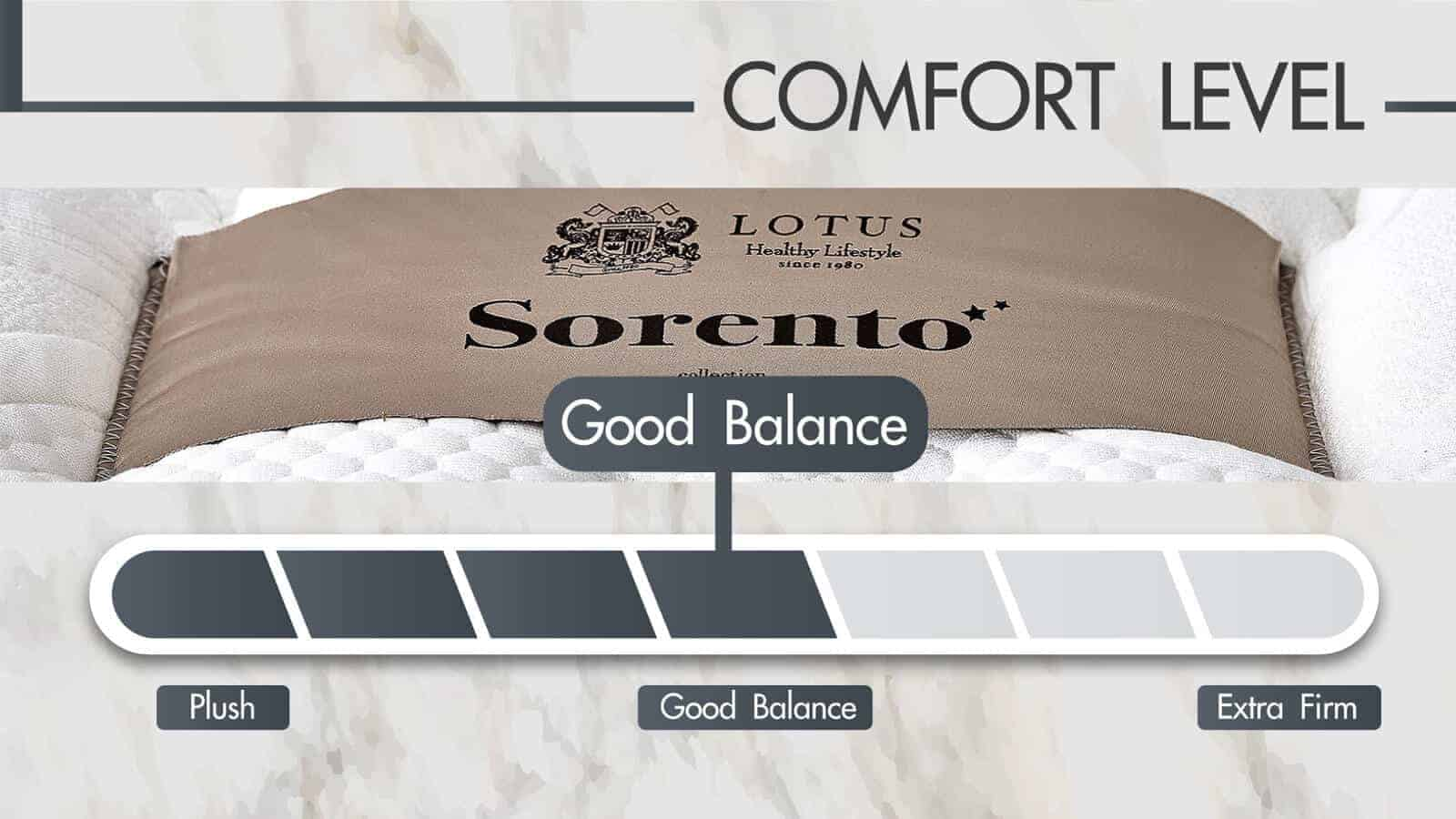 Lotus Mattress | Privacy Tech - SORENTO 16