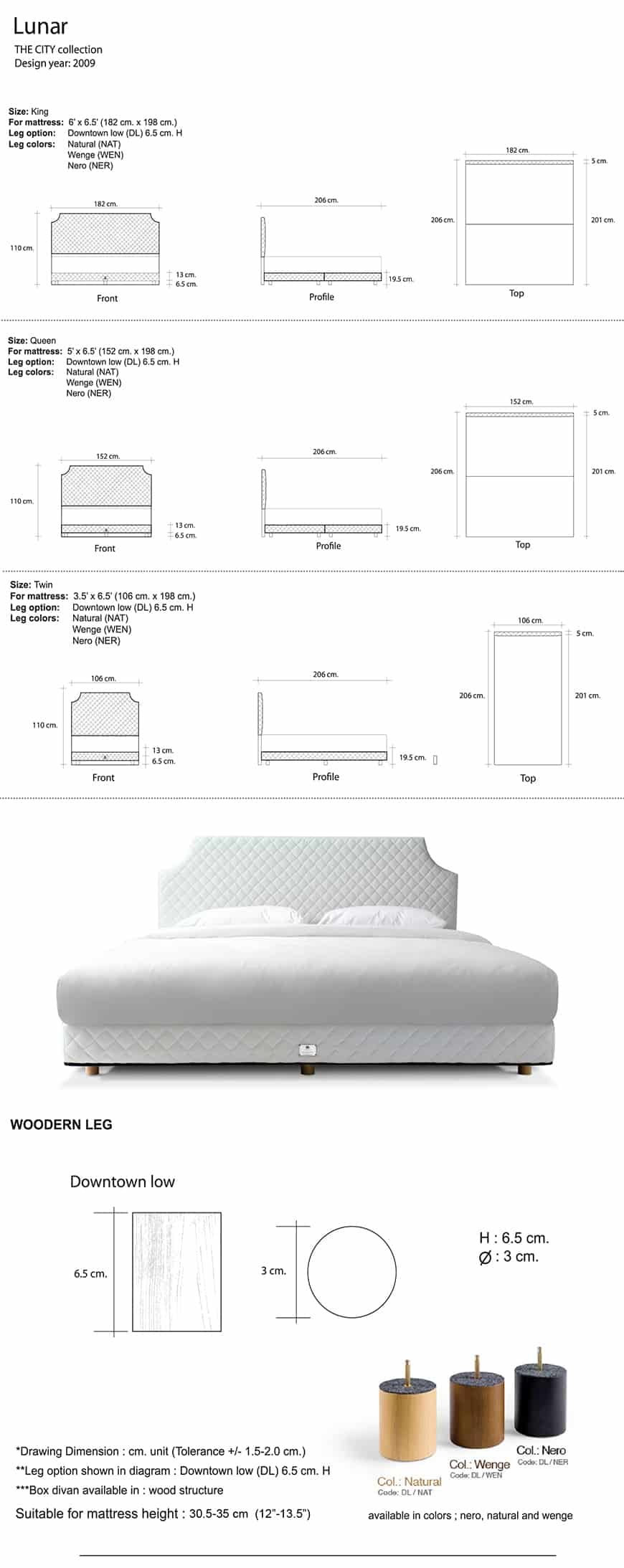 Lotus The City Bed | Collection - Loche 8