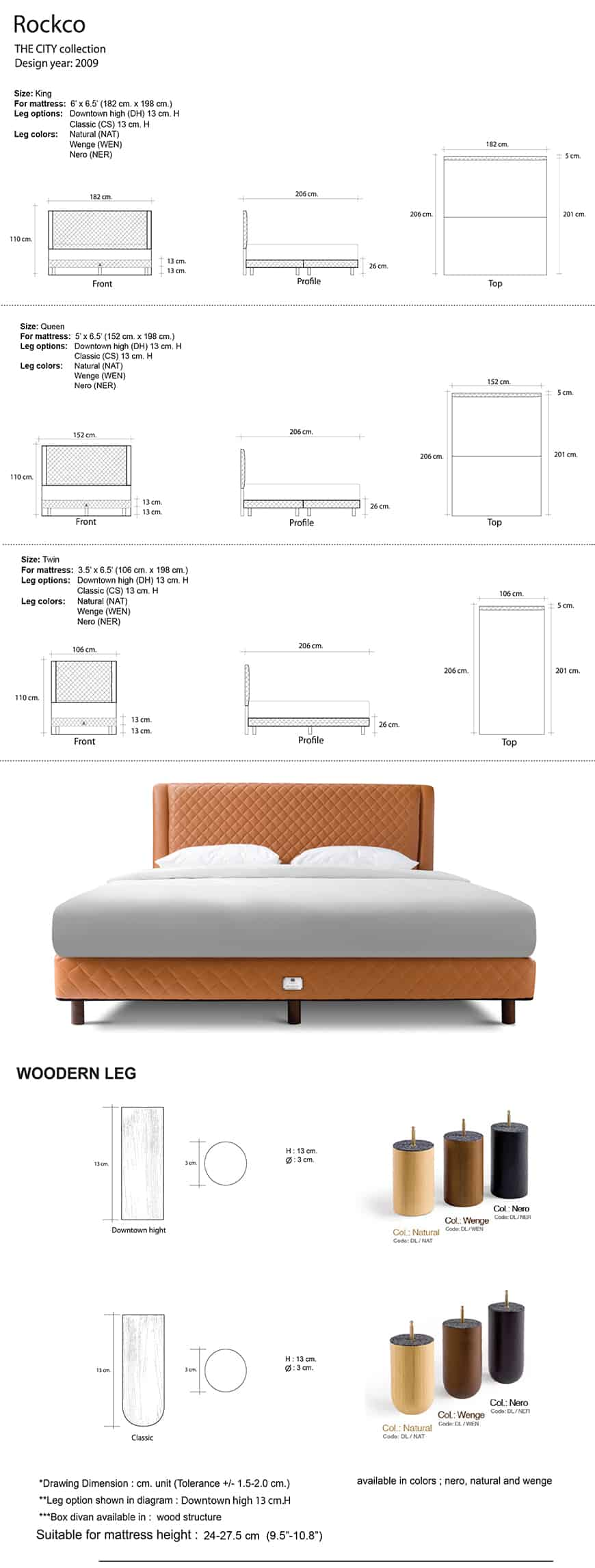 Lotus The City Bed | Collection - Rockco 15