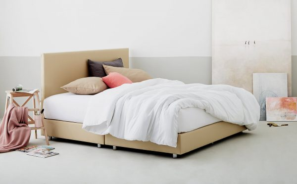 Lotus Bed Frame - Burgi 1