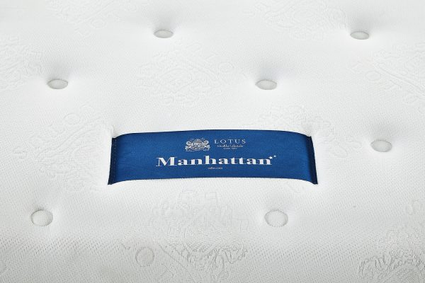Lotus Spring Mattress Manhattan – Good Balance Mattress – Thickness 12 inches – Warranty 10 years 9