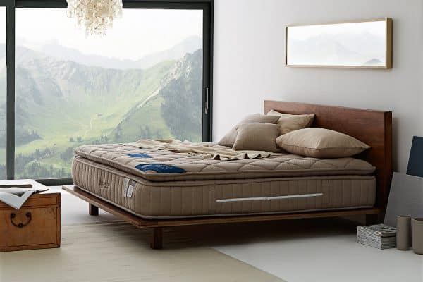 Lotus Foam Spring Mattress Marshall Deluxe III - Good Balance Mattress - Thickness 13 inches - Warranty 10 years 1