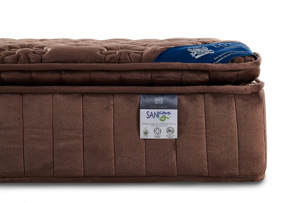 Lotus Mattress Woodfield with Bed Frame Lucia 4