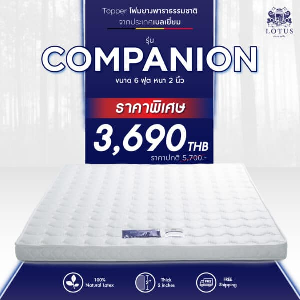 Lotus Topper - Companion I 1