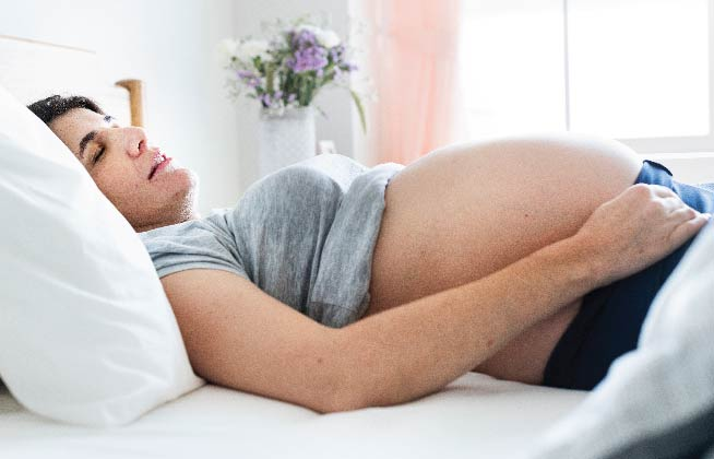 The way to get a good sleep during pregnancy 5