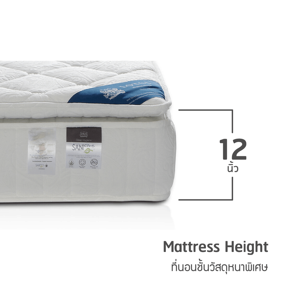 Lotus Mattress - Marshall Deluxe II 16