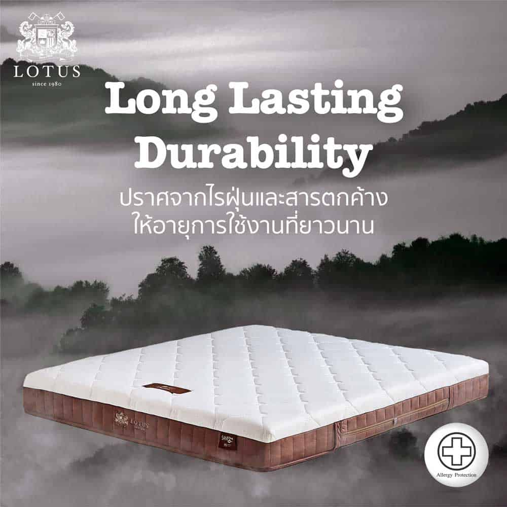 Lotus Mattress – Purist 35
