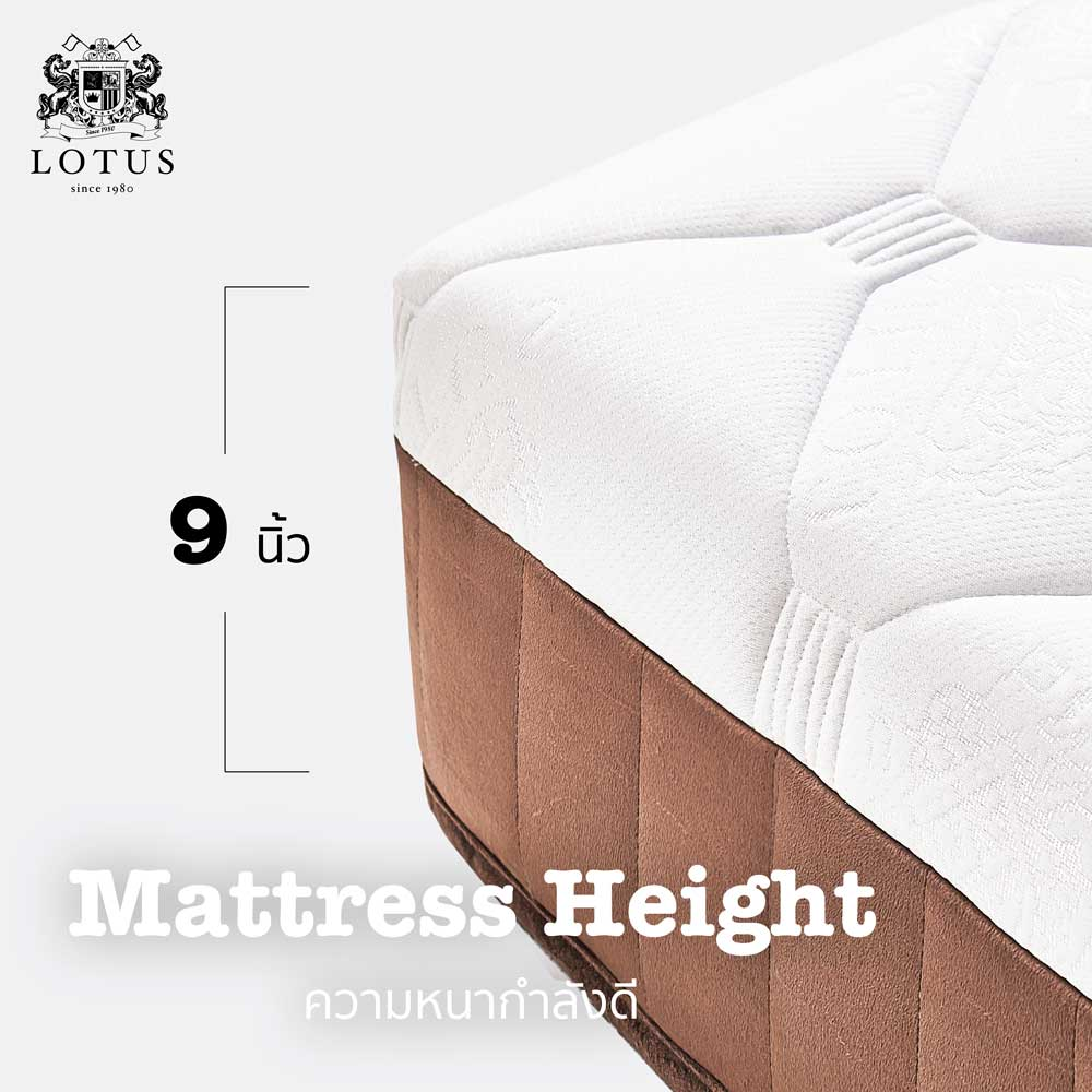 Lotus Mattress – Purist 30